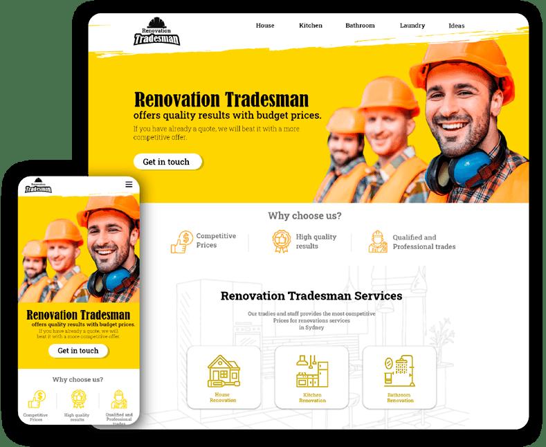 Renovations tradesman
