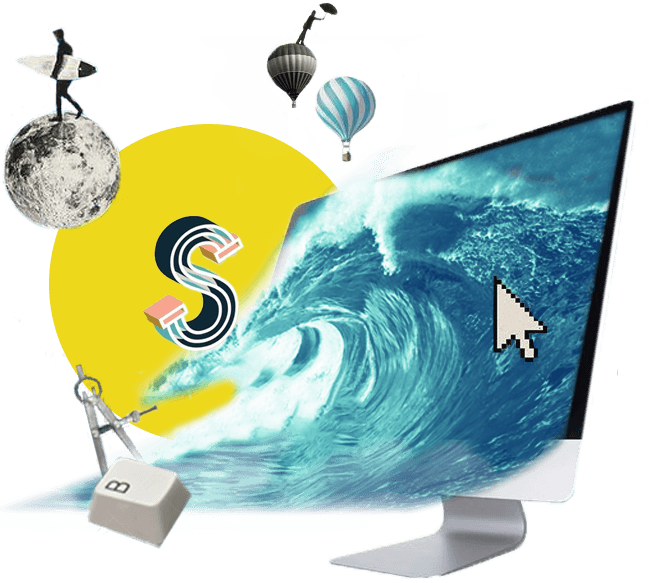 Seo Services Collage Webdesign